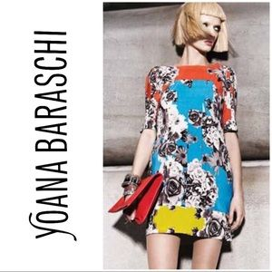 Anthro | Yoana Baraschi | Multi Flower Dress